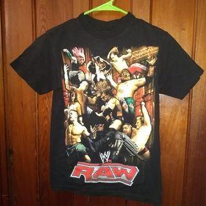 WWE Shirts - WWE RAW T-SHIRT - Official Pro Wrestling Tee Shirt